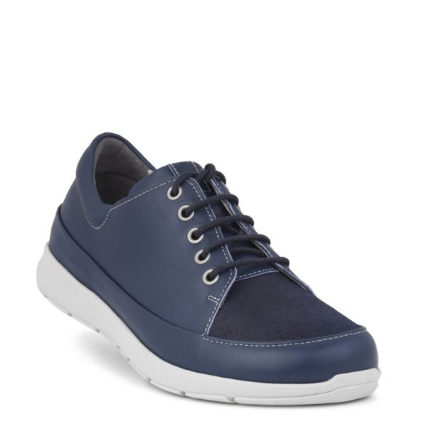 New Feet snøresko blå