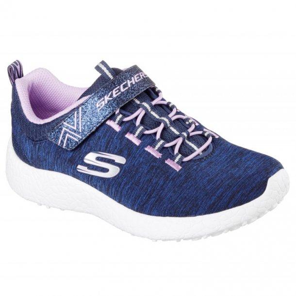 Skechers Burst blå sneaker