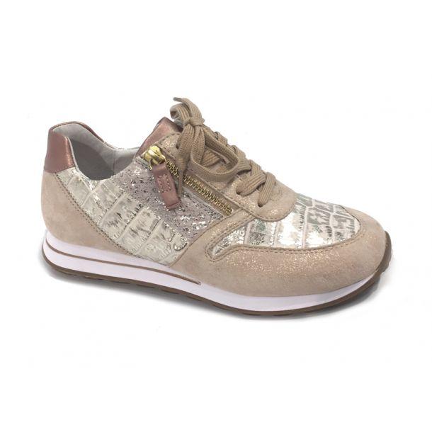 Gabor sneakers rosa metalic