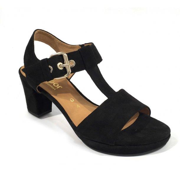 Gabor sandal sort
