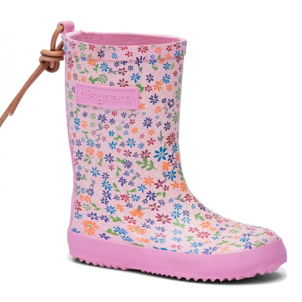 Bisgaard gummistøvle med blomster