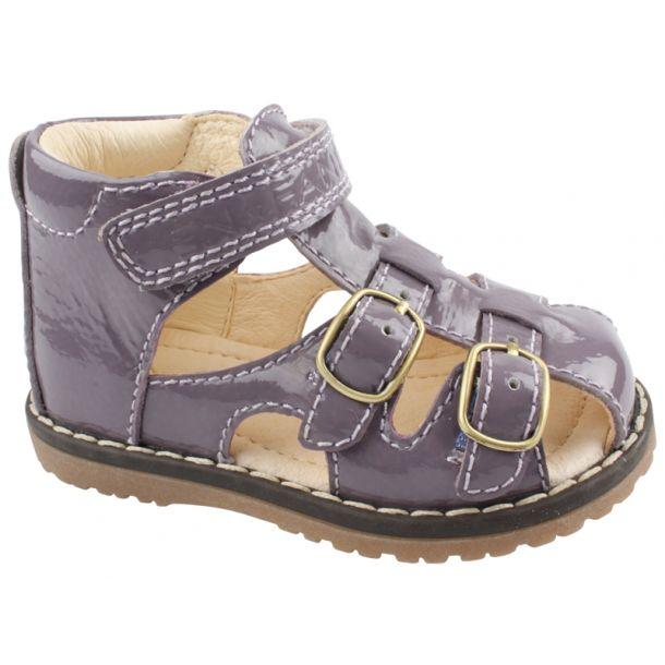 Enfant sandal lilla lak