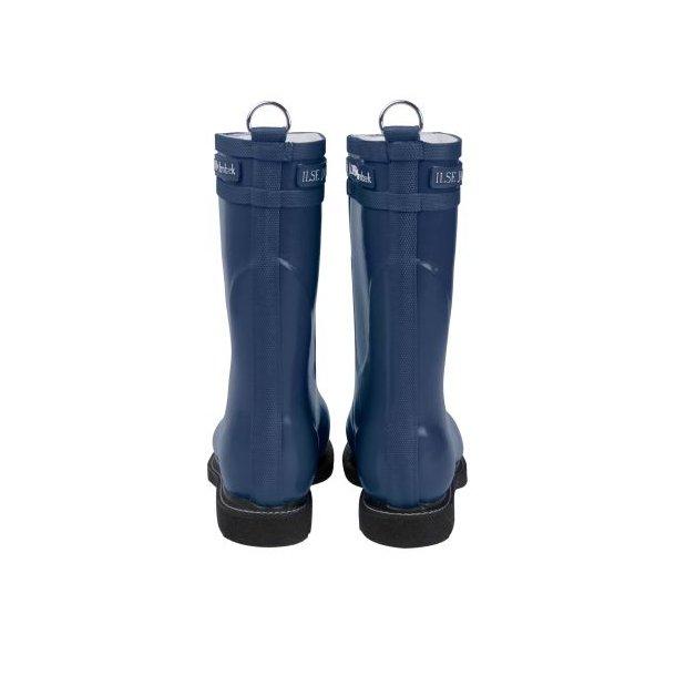 Ilse Jacobsen Rub 15 mellemlang blå gummistøvle