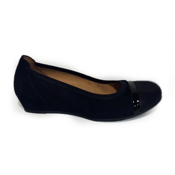 edf3c28df00 Gabor - Ballerina sko med hæl
