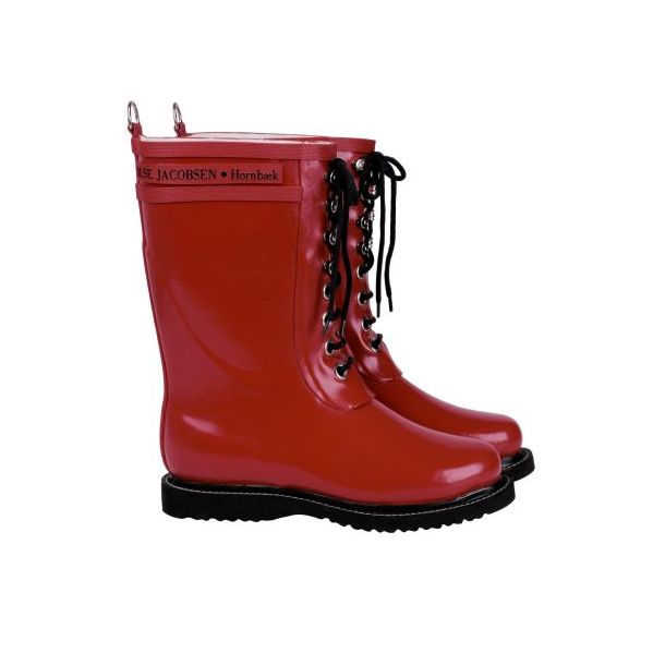 Ilse Jacobsen Rub 15 mellemlang rød gummistøvle