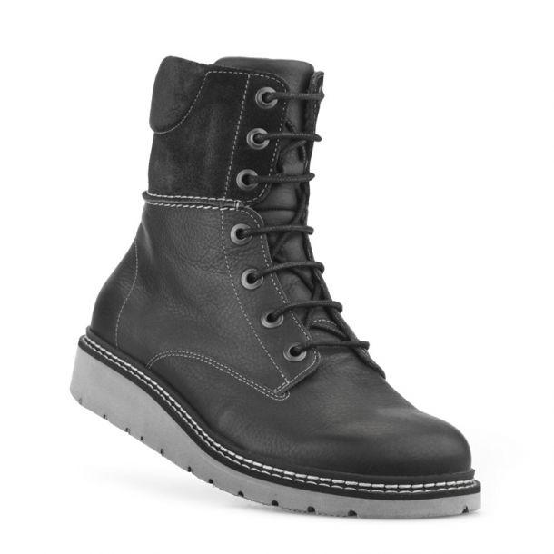 New feet kort snørestøvle