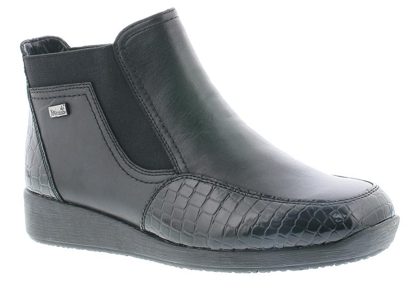 c30f2be68dd Rieker kort støvle - Støvler - RABØL