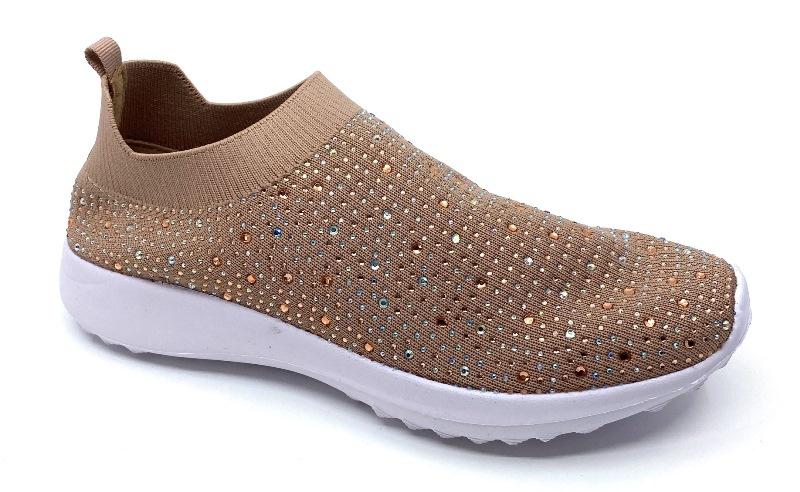 Dame sneakers med nitter