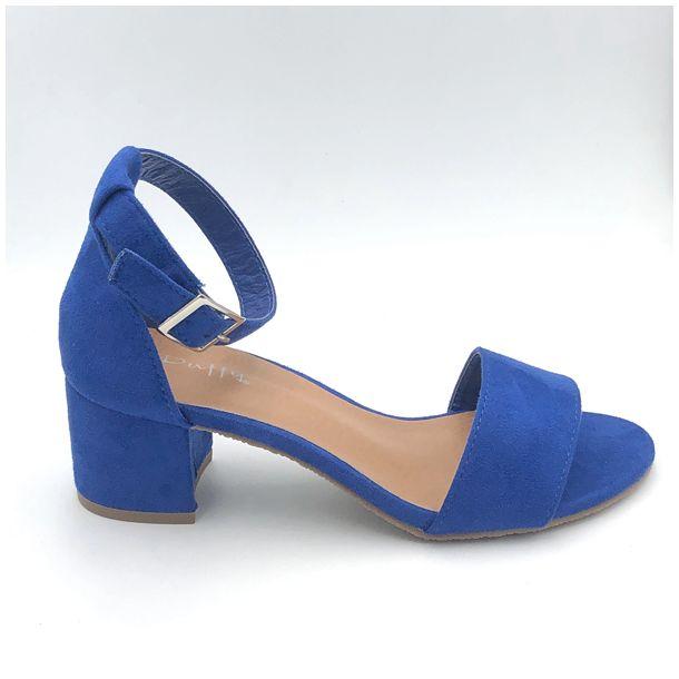 0b9b445dea3 Duffy blå sandal - Sandaler - RABØL