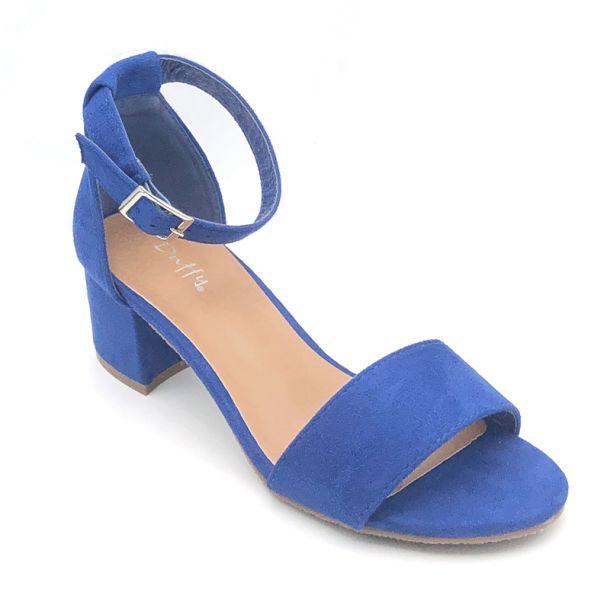 Duffy blå sandal