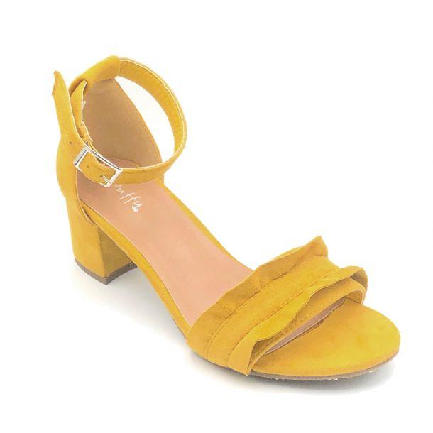 Duffy gul sandal