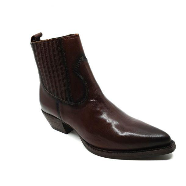 Skind støvle